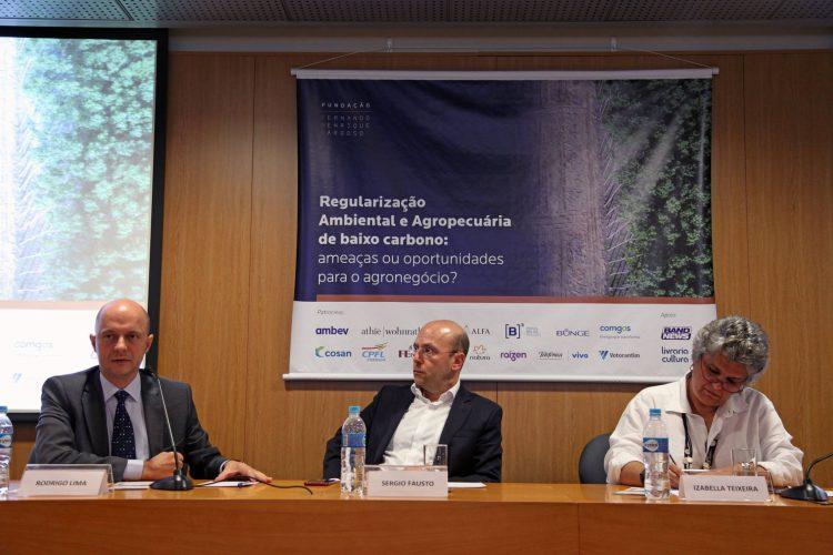 Agroicone debate sobre agronegócio, conservação e Código Florestal na FFHC