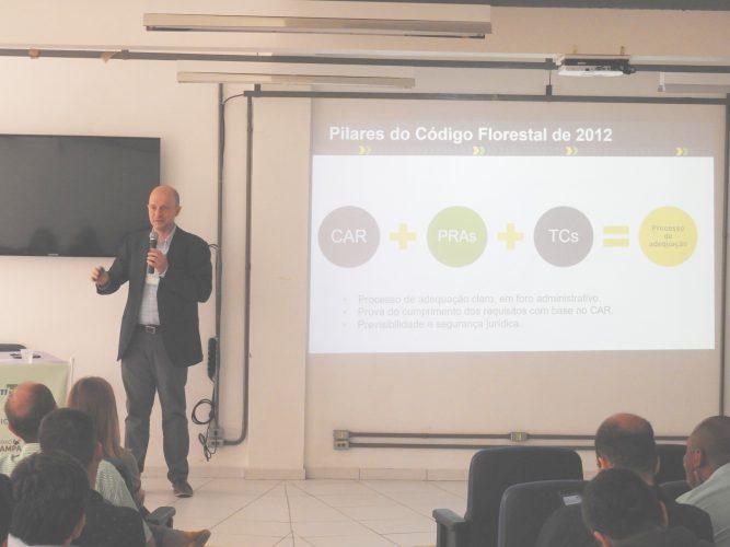Agroicone compartilha experiências sobre regularização ambiental em evento no Rio Grande do Sul