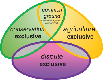 Sustainable bioproducts in Brazil: disputes and agreements on a common ground agenda for agriculture and nature protection