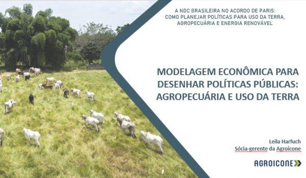 Contribuições da Agroicone para agricultura sustentável com o Modelo de Uso da Terra para a Agropecuária Brasileira – BLUM